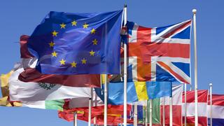 EU / UK flags