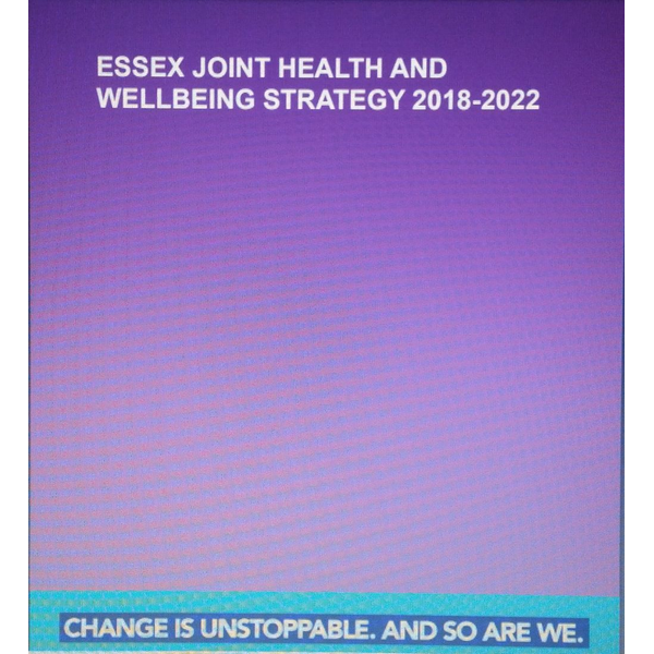 Essex Health and Wellbeing Strategy cover page