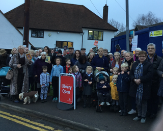 Stansted Community launches their campaign to save their Library
