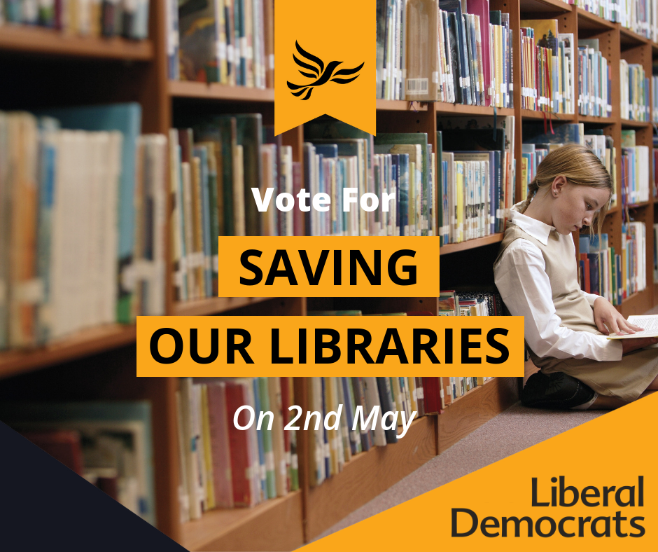 Save our libraries (George Potter)