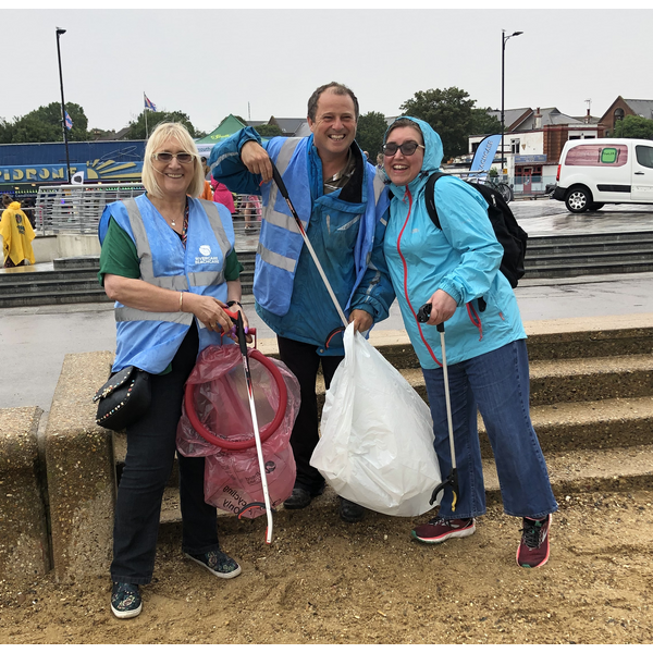 Southend Beach Clean July 2019 ()