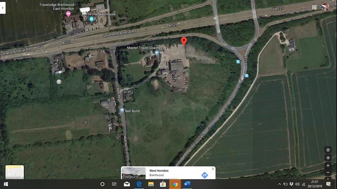 LAND SOUTH OF EAST HORNDON HALL TILBURY ROAD WEST HORNDON ESSEX CM13 3LR (Google Maps)