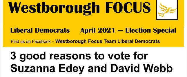 Westborough Focus Election Special April 2021 ()