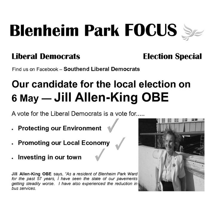 Blenheim Park election Focus May 2021 ()